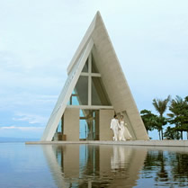 bali infintity conrad chapel wedding